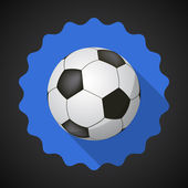 Sport Ball Football Soccer — Stock Vector