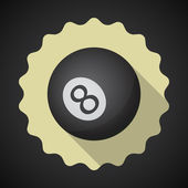 Eight 8 Ball — Stockvector
