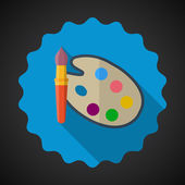 Paleta de cores designer — Vetor de Stock