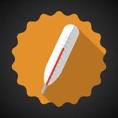 Medikal termometre — Stok Vektör