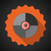 Music Vinyl Record — Stock Vector