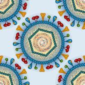 Herpes virus. Seamless pattern. Eps 10 — Stock Vector