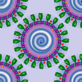Corona virus. Seamless pattern. Eps 10. — Stock Vector
