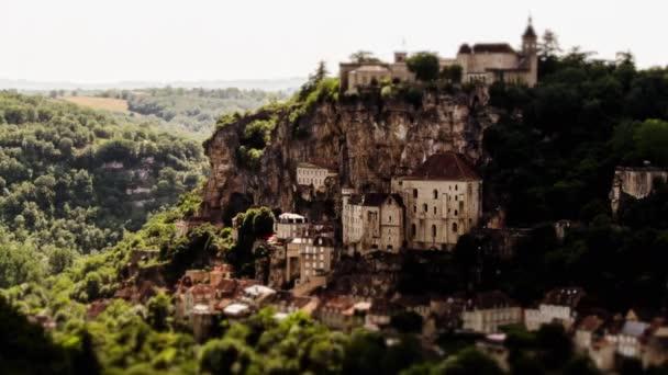 Rocamadour, Timelapse, France — Vidéo