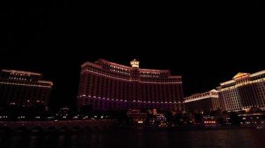 Bellagio fontány, kompletní Ukázat část 5 z 5, las vegas — Stock video