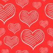 Vector repeated valentine pattern — Vecteur #38960265