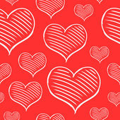 Vector repeated valentine pattern — Stockvector