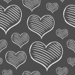 Vector repeated valentine pattern — Vecteur #39400495