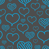 Vector repeated valentine pattern — Vecteur