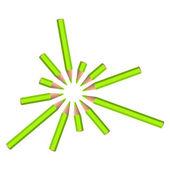 вектор цветной фон — Cтоковый вектор