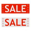 Vector sale signs — Stock Vector #44479201