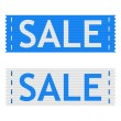 Vector sale signs — Stock Vector #46414017