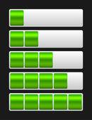 Vector loading bar — Stock Vector