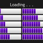 Vector loading bar — Stock Vector #50956965