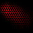 Stock fotografie: Bubble wrap lit by red light