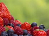 Assorted berries — Стоковое фото