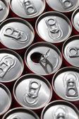 Latas de refrigerante. — Foto Stock