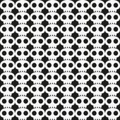 Skull background — Stockvector