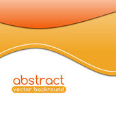 Abstact ondas vivo — Vector de stock