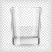 Empty glass. — Stock Vector