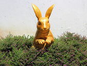 Rabbit statue — Stock Photo