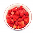 Stock Photo: Strawberry in bowl