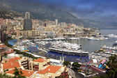 Monte Carlo,Monaco,panoramic view — Stock Photo