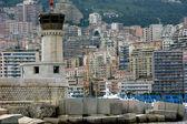 Monte Carlo,Monaco,lighthouse — Stock Photo