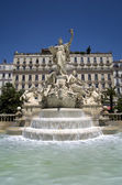 Toulon,Grand Fountain — Stock Photo