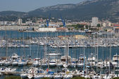 Toulon,France,marina — Stock Photo