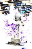 Men Statue — Stock Photo