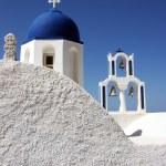 Orthodox Church in Santorini — Stock Photo #40493677