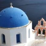 Orthodox Church in Santorini — Stock Photo #40494153