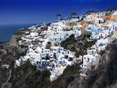 Santorini Panorama — Stock Photo