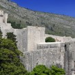 Stock Photo: Dubrovnik City Walls