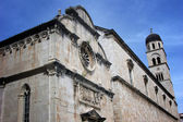 Historic Church in Dubrovnik — Stock Photo