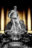 Trevi Fountain in Rome — Stock Photo