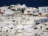 Mykonos White houses,Greece — Stock Photo