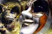 Weneckie maski karnawałowe — Zdjęcie stockowe