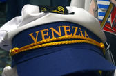 Souvenir Sailor Cap in Venice — Stock Photo