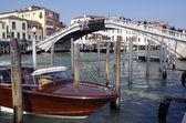 Taxi Boat in Venice — Foto Stock