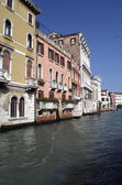 Buildings and houses at Grand Canal in Venice,Italy — Stock Photo