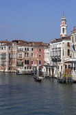 Buildings and houses at Grand Canal in Venice,Italy — Foto Stock