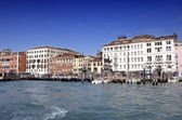 Buildings in the water in Venice — Foto de Stock