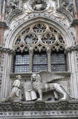 Basilica on St. Mark's square in Venice — Stock Photo