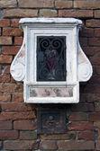 Sacral window in Venice — Stock Photo
