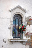 Sacral window in Venice — Stock Photo