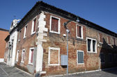 Old house in Murano Island in Venice — Stock Photo