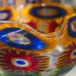 Multicolored Murano Glass Bowl in Venice — Zdjęcie stockowe #43891967