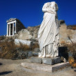 Woman Stone headless statue in Delos,Greece — Stock Photo #43898831